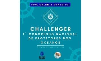 Challenger: 1° Congresso Online de Protetores dos Oceanos